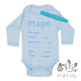 It's a Baby Romper: It's A Boy!_