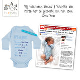 It's a Baby Romper: A Star is born!_