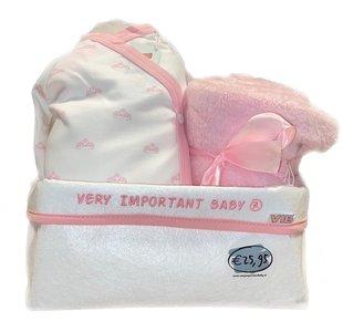 VIB Giftpakket in commodemandje Girl L 5.1