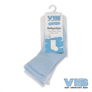 VIB sokjes blauw