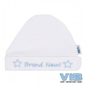 VIB muts brand new blauw